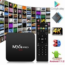 2018 MXQ Pro 4K Android 7.1.2 Nougat Smart TV Box KODI 18.0 1G/8G S905W AU Stock