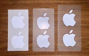 Apple Sticker Genuine New Logo OEM Authentic White