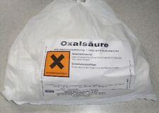OXALSÄURE 1 kg Kleesalz Bleichmittel Kleesäure (aus Deutschland!)