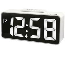 ' ' s LED blanco conector inteligente Talos Alarma Reloj Por Acctim