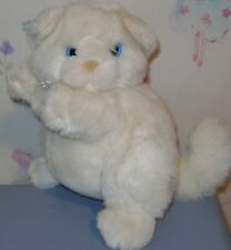 "Vintage Mary Meyer Vermont White Cat Plush 8"""
