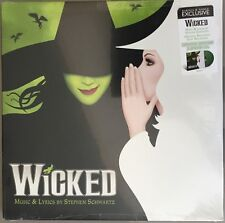 WICKED MUSICAL BROADWAY 2 LP B&N EXCLUSIVE LTD GREEN VINYL
