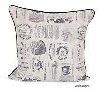"Reversible 100% Cotton Cushion Covers Decorative Pillow Case Size 18"" Free P&P"