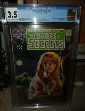 DC COMICS CGC 3.5 VG- 1st appearance Swamp Thing House of secrets 92  grey tone