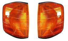 Mercedes Benz W201/190E 1982-1993  Corner Lamp Turn Signal Amber Left+Right Depo