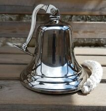 Chrome Last Orders Bell Large 6inch / 152mm Large Chrome Bell  Ships Bell, Pub