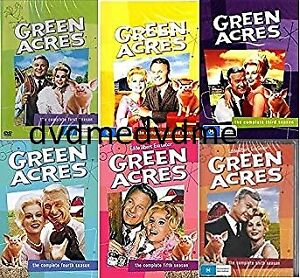 Green Acres Complete DVD Season 1-6 Set Brand New and Sealed Australian Release