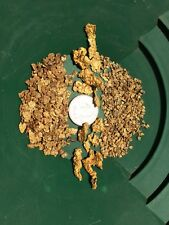 Gold Paydirt/Gravel - NUGGET DIRT - FREE SHIPPING PANNING FLAKES