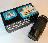 JCPenney Multi-Coated Optics Lens 80-200mm f/4.5  One Touch Macro Zoom Minolta