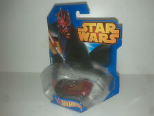 Disney Hot wheels STAR WARS DARTH MAUL  - MATTEL  CGW44  voiture ..