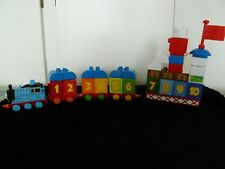 Mega Bloks 'Thomas and Friends' Train, crane etc 38 pieces