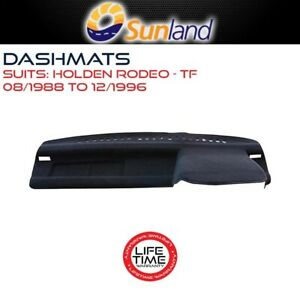 Sunland Dashmat Fits Holden Rodeo TF 08/1988 - 12/1996 All Models Mat Covers