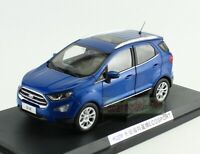 1:18 Scale FORD ECOSPORT SUV Blue Diecast Car Model