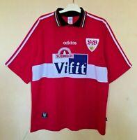 FC STUTTGART 19961997 AWAY FOOTBALL JERSEY CAMISETA SOCCER TRIKOT SHIRT VINTAGE