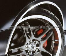 E-Tech CHROME Car Wheel Arch Guard Paintwork Protector 5 Metres Adhesive Roll