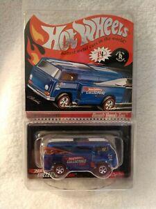 HOT WHEELS RLC 2006 CLUB CAR BEACH BOMB TOO BLUE #255/6000