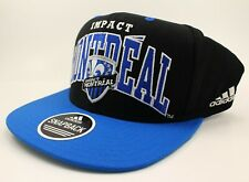 Montreal Impact MLS Soccer Hat Snapback Blue Black Adjustable NEW Adult Adidas