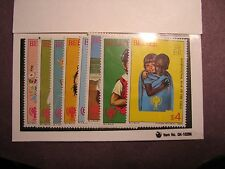Belize Stamp Scott# 490-97 Various Children 1980 MNH L48