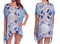 AU SELLER Oversize Chiffon Fringe Kaftan Top Shirt Beach Kimono Cover UP sw061-2