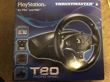 Thrustmaster T80 (4169071) Wheel And Pedals Set good condition ps4/ps3