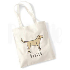 Personalised 'Labrador Retriever Dog' Canvas Tote Bag- GIFT FOR PET DOG OWNER