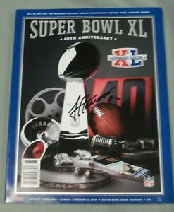 James Harrison, Pgh Steelers, Signed Super Bowl XL Program, Full Name