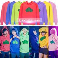 Mr.Osomatsu-san Matsuno Ichimatsu Hoodie Sweater Pullover Jumper Cosplay Costume