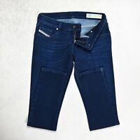 Womens DIESEL Grupee-Rs Super Slim skinny Jeans Size W28 L31 Stretch Dark denim