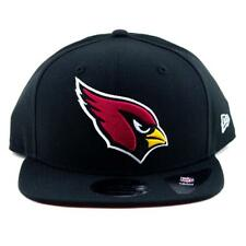 093413f9 Arizona Cardials New Era Cap NFL 9Fifty Flat Brim Hat In Black