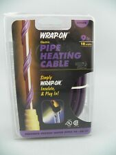 Wrap-On Pipe Heating Cable Heat Tape 18W 120V Nine(9) Foot #31009 NEW Free Ship!