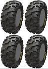 Four 4 ITP Blackwater Evolution ATV Tires Set 2 Front 26x9-12 & 2 Rear 26x11-12