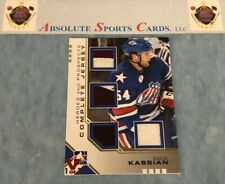 2012 ITG In The Game ZACK KASSIAN Complete Jersey JSY | Vault Gold SSP True 1/1