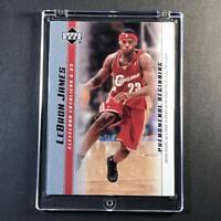 LEBRON JAMES 2003 UPPER DECK #12 PHENOMENAL BEGINNINGS ROOKIE RC NBA CAVS LAKERS