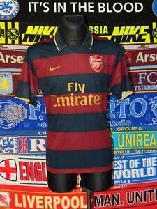 4/5 Arsenal adults M 2007 third football shirt jersey trikot soccer