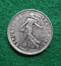 1971 5 Franc French Republic Coin Monaie De Paris (Circulated)