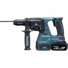 MAKITA - Marteau perforateur SDS-PLUS 18V 16mm (béton) + 2x BL1850 + 1x DC18RC M