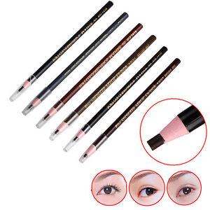 Waterproof Makeup Microblading Permanent Eyebrow Lip Tattoo Positioning Pencil