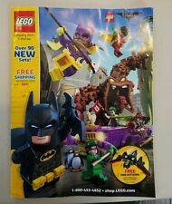 lego January 2017 catalog with Batman cover