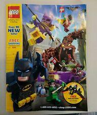 lego January 2017 catalog with Batman cover
