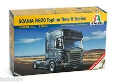 Italeri 3858 1/24 Scale Truck Model Kit Scania R620 V8 Topline New R Series