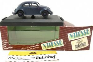 Volkswagen Beetle Pretzel Black Sedan Vitesse 4000 1:43 Original Packaging LJ2