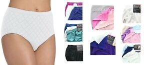 Bali Seamless Microfiber Brief Panty Womens Comfort Revolution, 3 Pack 803J