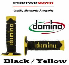 Domino Full Diamond Grips Black / Yellow KTM 350 SX-F