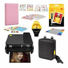 KODAK Smile Classic Digital Instant Camera with Bluetooth (Black) Photography Sc