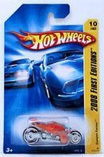 Hot Wheels Canyon Carver Motorcycle 2008 First Editions NIB Mattel NIP 10/40