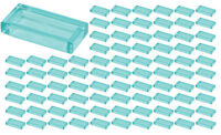 ☀️Lego 1x2 Trans-Light Blue Tiles x100 Building Ice Piece Bulk Lot Legos #3069b