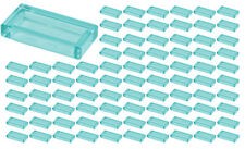 ☀️Lego 1x2 Trans-Light Blue Tiles x100 Building Ice Piece Bulk Lot Legos #3069b