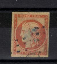 CERES N°5  40c Orange GROS POINTS,  4 marges Cote
