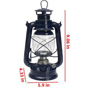 Oil Light Lantern Hurricane Paraffin Lamp Storm Outdoor Camping Metal UK