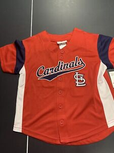 MLB St Louis Cardinals Baseball Jersey Stitched Youth X-Small David Freese 2013